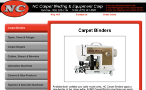 N-C Carpet Binding Equipment Corp., Inc